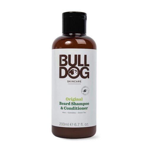 Bulldog Skincare and Grooming For Men Original Beard Shampoo and Conditioner,