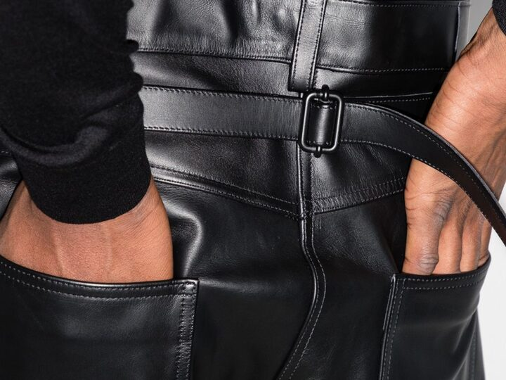 How to Wear Men's Leather Pants + 10 of Our Favorite Pairs