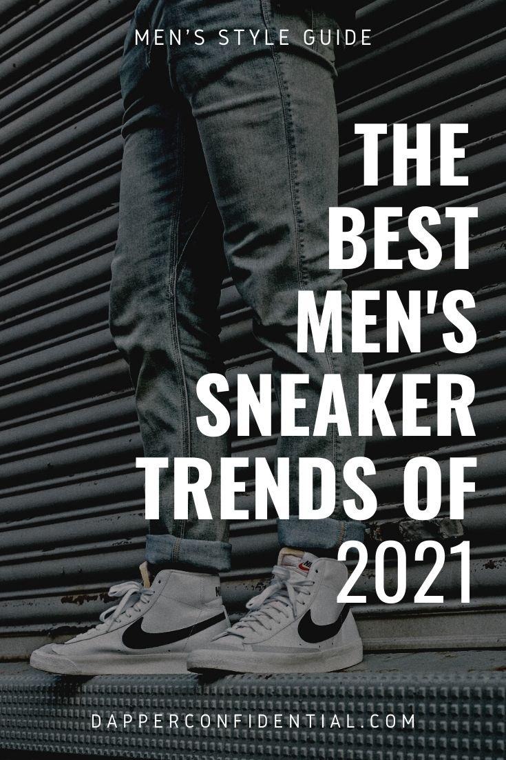 best sneaker trends for men