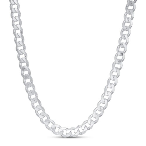 Jared Men's Curb Chain Necklace Sterling Silver