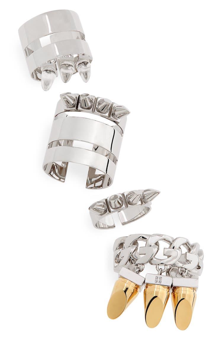 Matthew Williams' Studded Ring Set