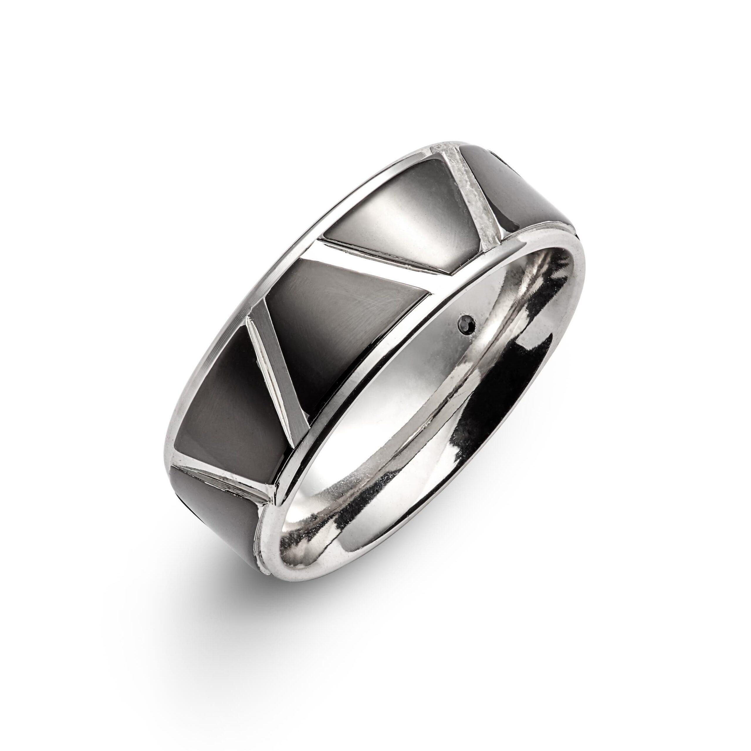 Men's Geometric Ring
