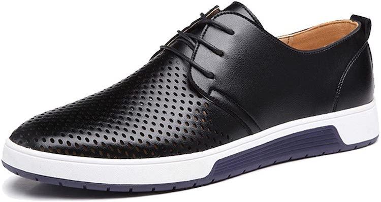 ZZHAP Men's Casual Oxford Shoes