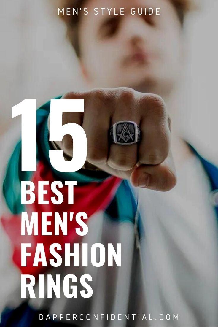 best fashion rings for men