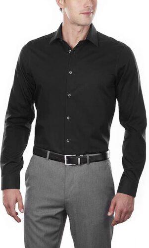 Calvin Klein Men's Dress Shirt Slim Fit