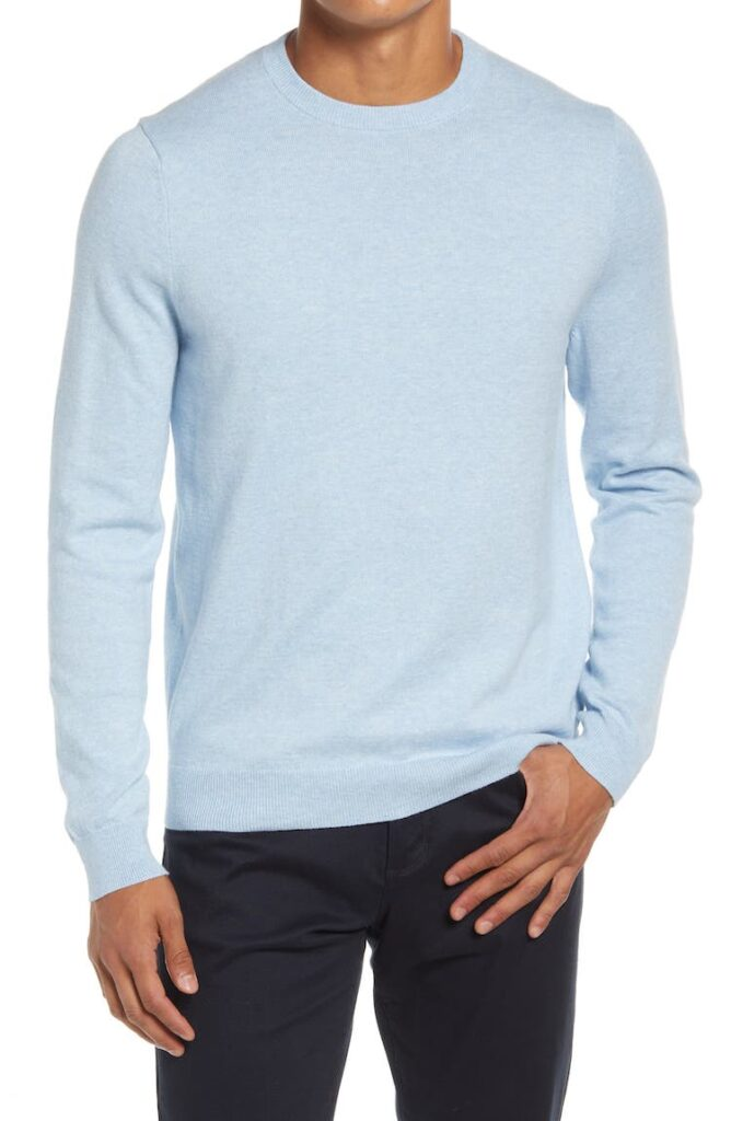 Cotton & Cashmere Crewneck Sweater
