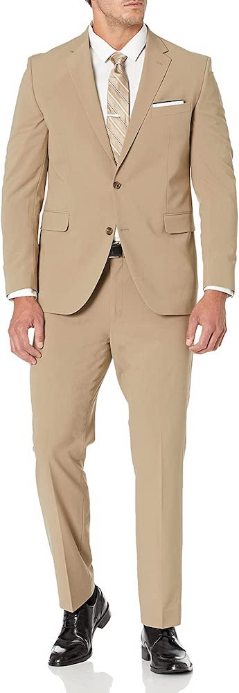 Dockers Men's Stretch 32 Finished Bottom Suit