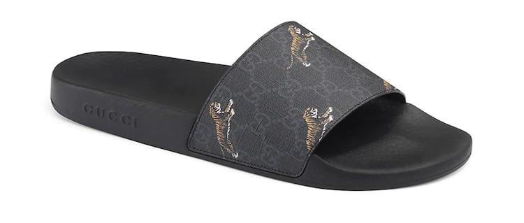Gucci Supreme Tigers Designer Slides