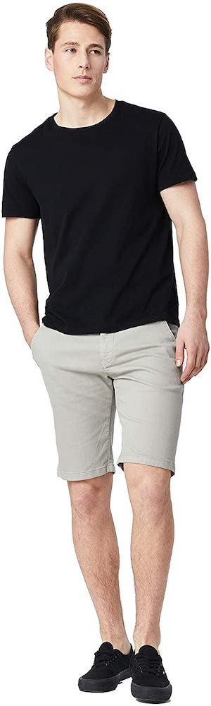 Mavi Men's Jacob Mid Rise Slim Twill Shorts
