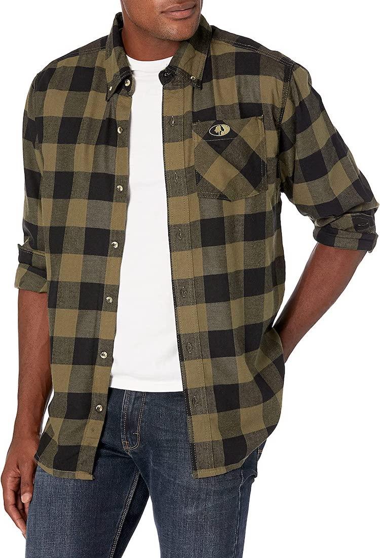 Mossy Oak Flannel Shirt for Men