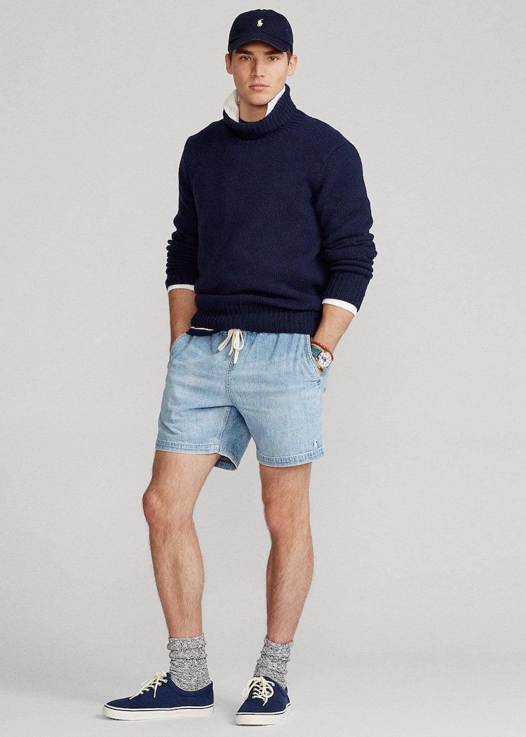 Polo Ralph Lauren 6.5-Inch Polo Prepster Denim Shorts