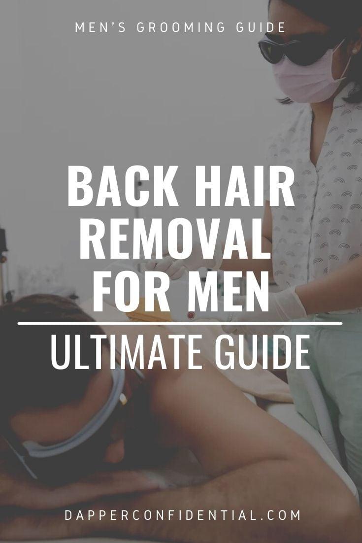 back hair removal for men