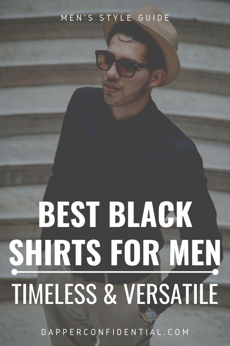 best black shirts for men