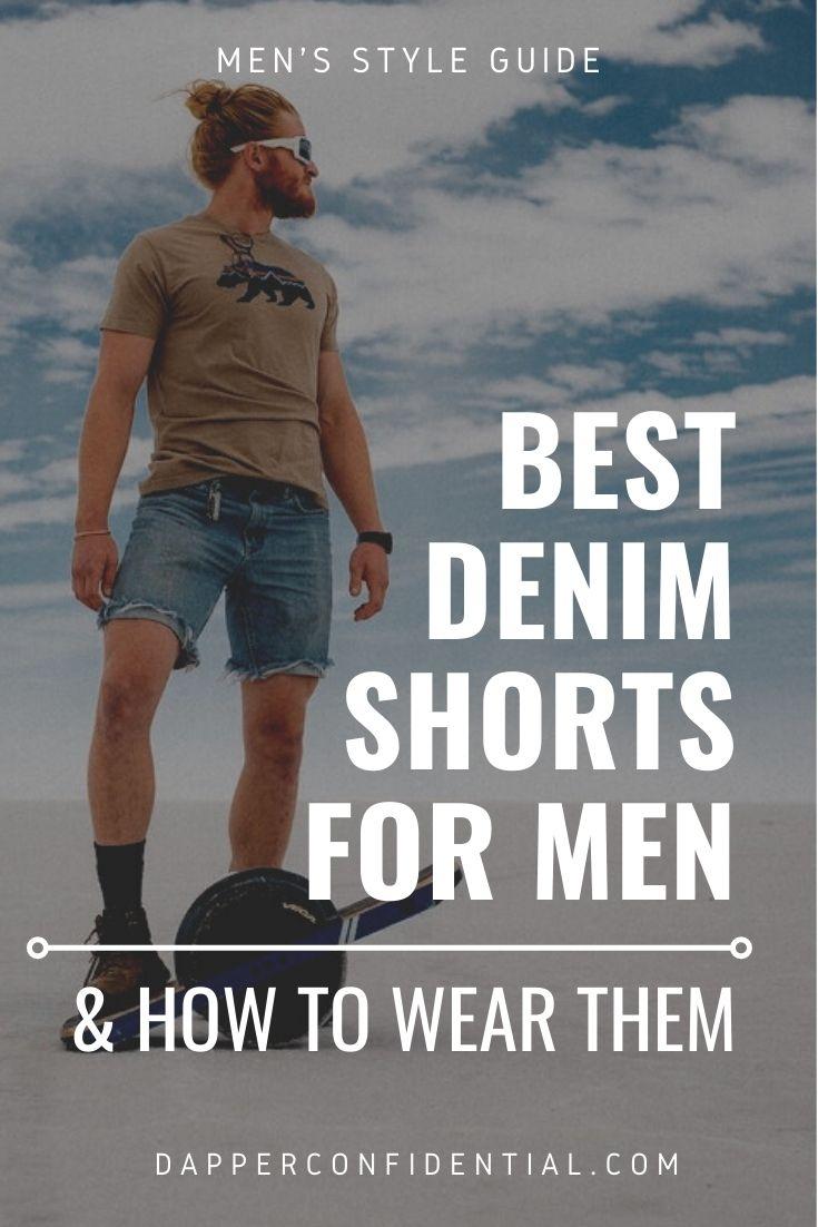 best denim shorts for men